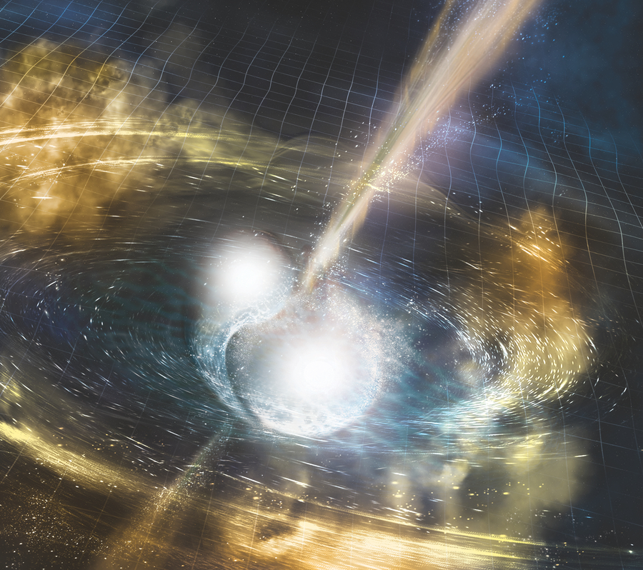 Gravitational waves and light